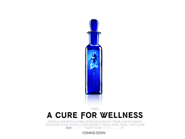 A Cure For Wellness movie quad poster