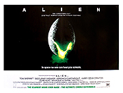 Alien - The Director's Cut re-release quad movie poster