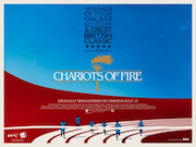 Chariots Of Fire movie quad poster