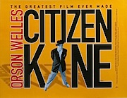 Citizen Kane re-release movie quad poster