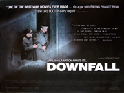 Downfall movie quad poster