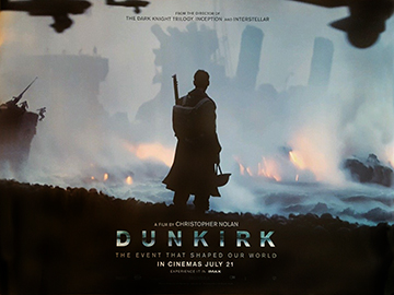 Dunkirk advance movie quad poster