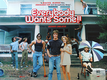 Everybody Wants Some!! movie quad poster