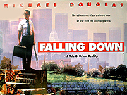 Falling Down movie quad poster