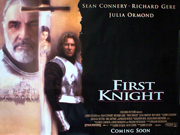 First Knight movie quad poster