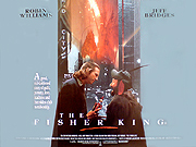 The Fisher King quad Poster