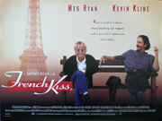 FRENCH KISS film quad poster