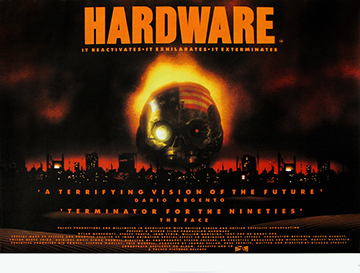 Hardware movie quad poster