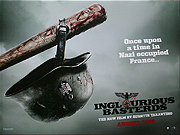 Inglorious Basterds style B quad poster