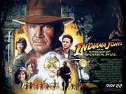 Indiana Jones & The Kingdom Of The Crystal Skull movie quad poster