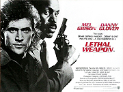 Lethal Weapon movie quad poster