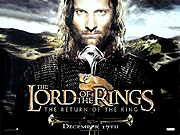 The Lord Of The Rings - The Return Of The King movie quad poster