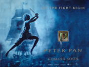 Peter Pan 2003 advance movie quad poster