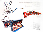 Who Framed Roger Rabbit? movie quad poster