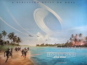 Rougue One movie quad poster