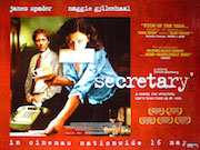Secretary movie quad poster