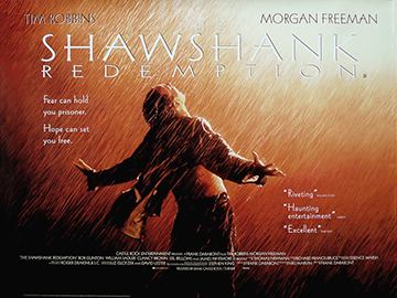 The Shawshank Redemption quad poster
