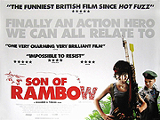 SON OF RAMBOW movie quad poster
