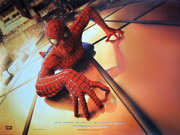 Spiderman movie quad poster