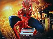 Spiderman 2 style A movie quad poster