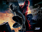 Spiderman 3 advance style B movie quad poster