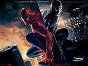 Spiderman 3 advance style A movie quad poster