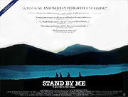 Stand By Me movie quad poster
