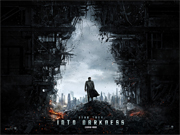 Star Trek - Into Darkness movie quad poster