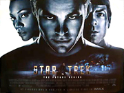 Star Trek 2009 movie quad poster