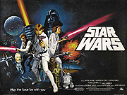 Star Wars pre-oscars movie quad poster