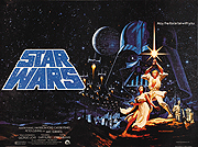 Star Wars film quad poster