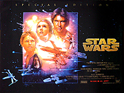 Star Wars special edition movie quad poster