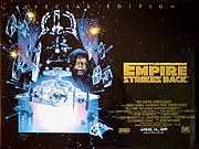 THE EMPIRE STRIKES BACK special edition movie quad poster