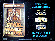 Star Wars trilogy special edition movie quad poster