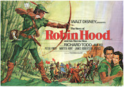The Story Of Robin Hood movie quad poster