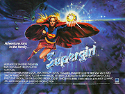 Supergirl movie quad poster