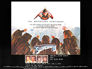 Superman 2 movie quad poster