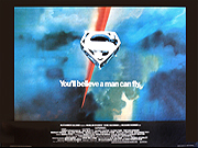 Superman advance movie quad poster
