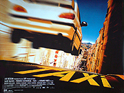 Taxi movie quad poster
