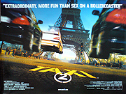 Taxi 2 movie quad poster