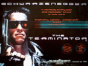 The Terminator movie quad poster