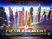 The Fifth Element quad Poster