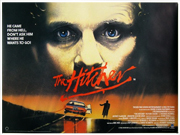 The Hitcher movie quad poster