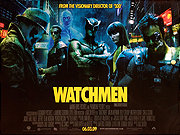 THE WATCHMEN movie quad poster