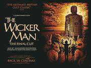 The Wicker Man 40th anniversary re-release quad poster
