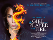The Girl Who Played With Fire movie quad poster
