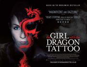 The Girl With The Dragon Tattoo quad poster