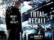 Total Recall 2012 movie quad poster