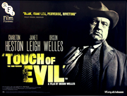 Touch Of Evil bfi 2015 re-release movie quad poster