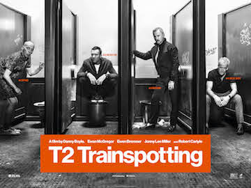 T2 - TRAINSPOTTING 2 movie quad poster